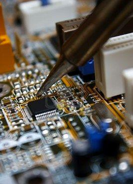 tv printed circuit board